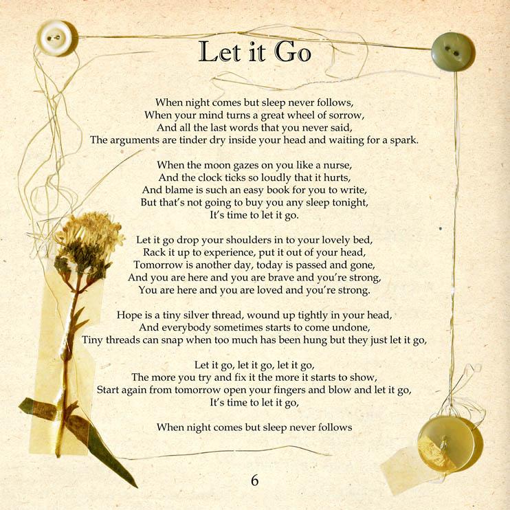 Lyric frozen let it go lyrics : Lyrics